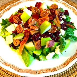 Apple Pecan Chopped Salad