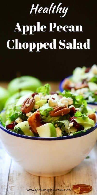 Healthy Apple Pecan Chopped Salad