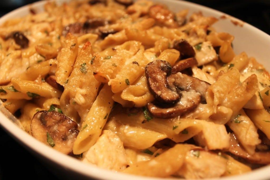 Chicken Mushroom Marsala Pasta