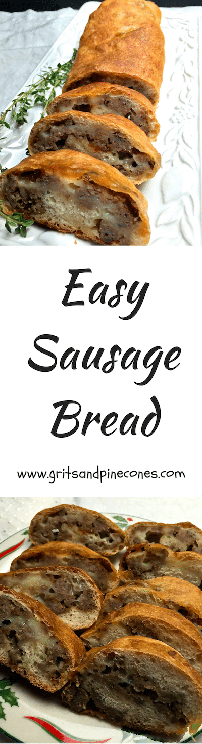 Sausage Bread is a great choice for a fabulous make-ahead Mother's Day breakfast or brunch. This delicious bread also makes a great appetizer or main dish.