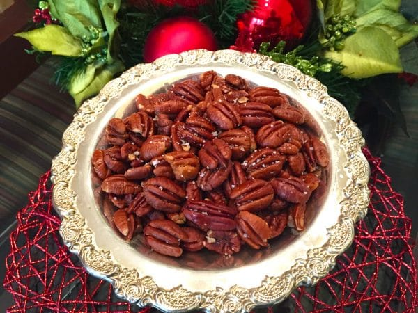 how to cook salted pecans