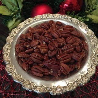 Oven Roasted Salted Pecans Recipe