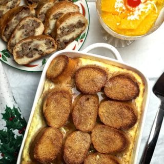 Easy Make-Ahead Christmas Breakfast Menu