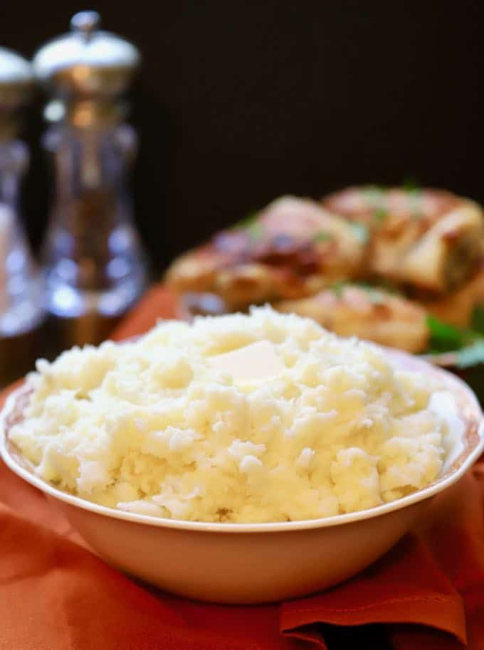 Decadent and delicious Creamy Make Ahead Mashed Potatoes