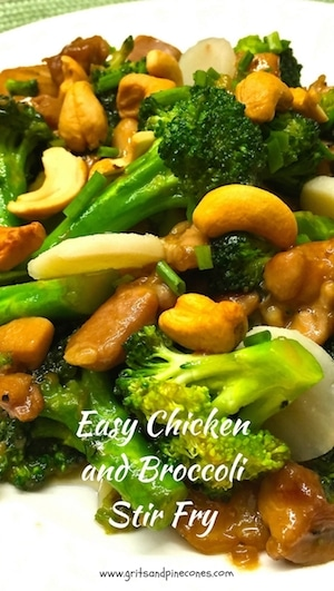 Healthy, filling, and packed with flavor, this Easy Chicken and Broccoli Stir Fry entrée is super easy to make, and you can have it on the table in 15 minutes!