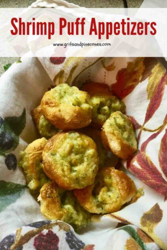 Shrimp Puff Appetizers Pinterest Pin