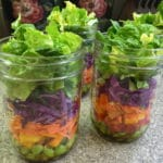 Mason Jar Chopped Salad with Citrus Vinaigrette-1