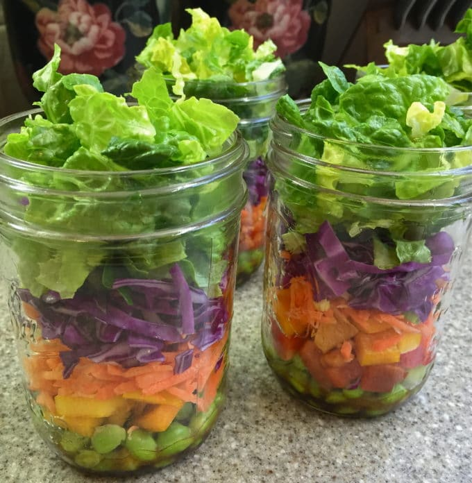 Mason Jar Chopped Salad with Citrus Vinaigrette-2