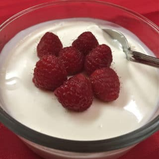 Easy Raspberry Cream Dessert Recipe