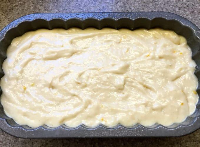 Southern Style Limoncello Cake ready to bake