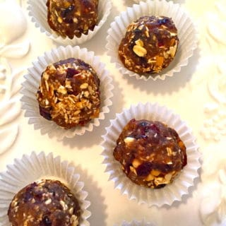No Bake Oatmeal Balls