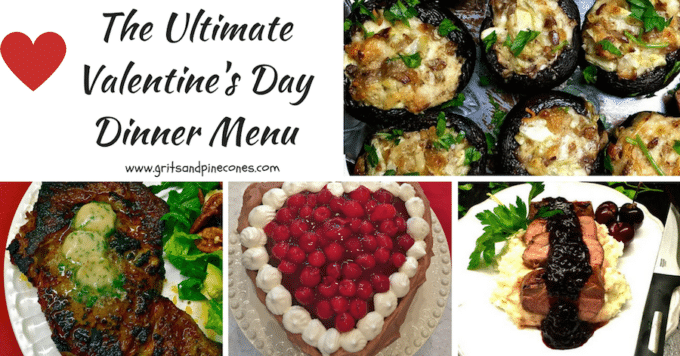 The Ultimate Valentine's Day Dinner Menu