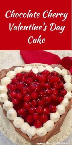 Chocolate Cherry Valentine Torte Pinterest Pin