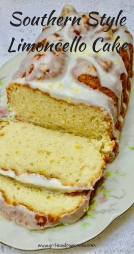 Southern Style Limoncello Cake