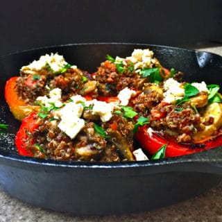 Peppers Stuffed with Quinoa and Vegetables