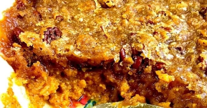 15 Best Sweet Potato Recipes for Thanksgiving-Terry's Sweet Potato Casserole Social Media