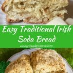 Traditional Irish Soda Bread Pinterest Pin