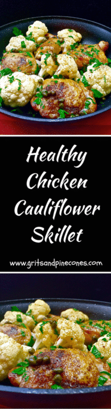 Chicken Cauliflower Skillet