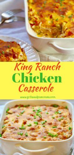 Classic King Ranch Chicken Pinterest pin