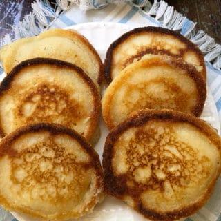Hoecakes aka Cornmeal Pancakes