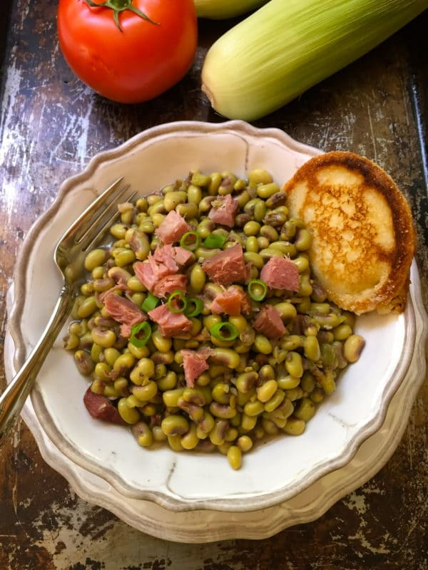 Southern Pink Lady Peas, it's what's for dinner!