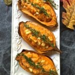 Easy Twice Baked Sweet Potatoes