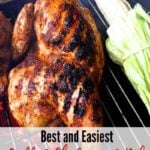 Pinterest pin Grilled Chicken and Rub Recipe.