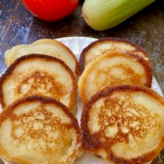 Easy Hoecakes aka Cornmeal Pancakes