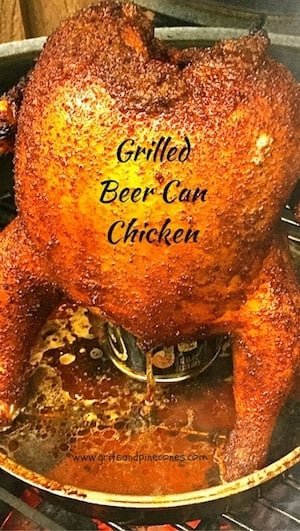 Grilled Beer Can Chicken