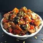 Bowl of Roasted Sweet Potato Salad