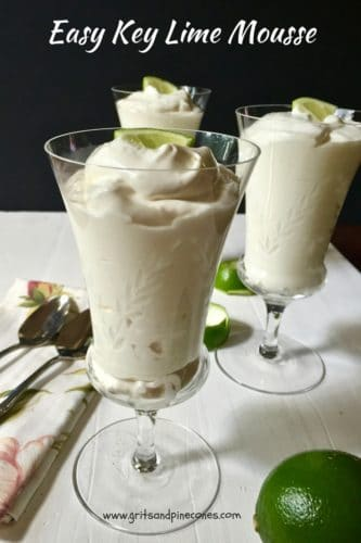 Easy Key Lime Mousse