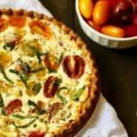 Southern Style Cherry Tomato Pie