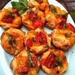 Muffin Pan Tomato Tarts