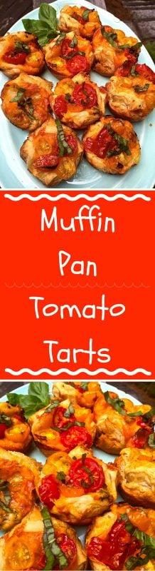 Muffin Pan Tomato Tart