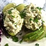 Avocado Stuffed with Blue Crab Meat