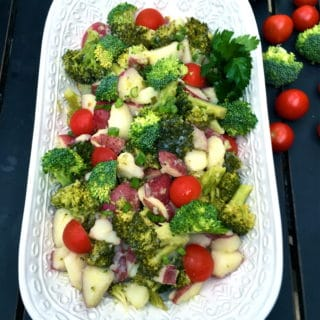 Potato Broccoli Salad with Vinaigrette