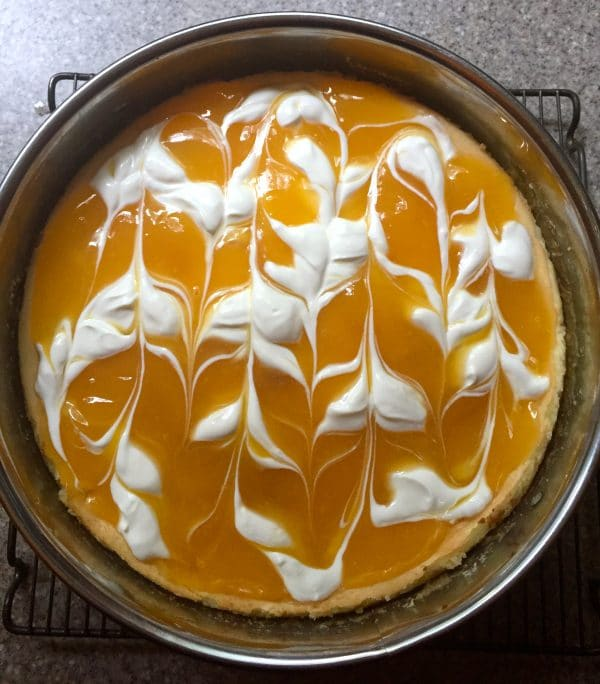 Luscious Lemon Cheesecake Topping