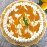 Luscious Lemon Swirl Cheesecake