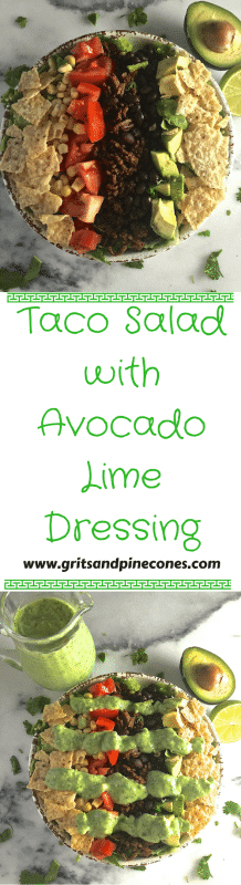 Have you ever wondered how to make a Taco Salad that is both delicious and healthy. You are in the right place.