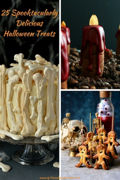 Are you looking for Halloween food ideas, Halloween dinner recipes or Halloween appetizer recipes to serve for adults or for kids' Halloween party? Scare up some smiles this Halloween with these 25 fun, super cute, kid-friendly spooktacularly easy Halloween treats including creepy Halloween main dish ideas and Halloween healthy snacks!
