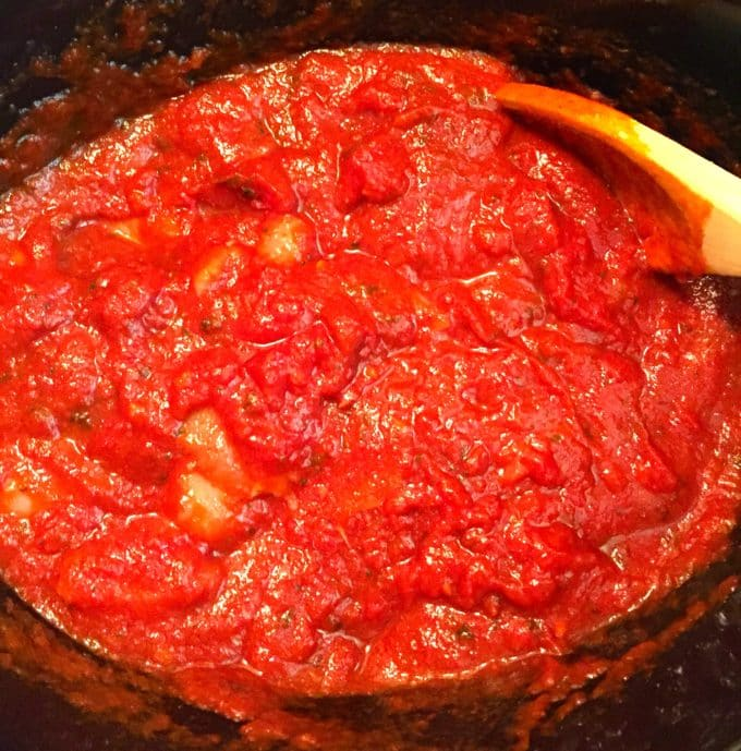 Marinara sauce for Slow Cooker Chicken Broccoli Pasta