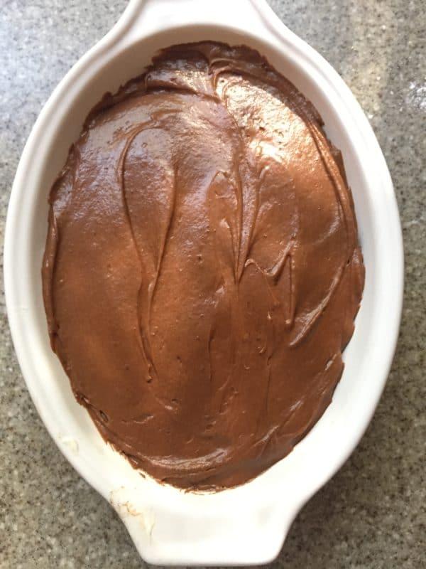 Graveyard Chocolate Cheesecake Dip 3