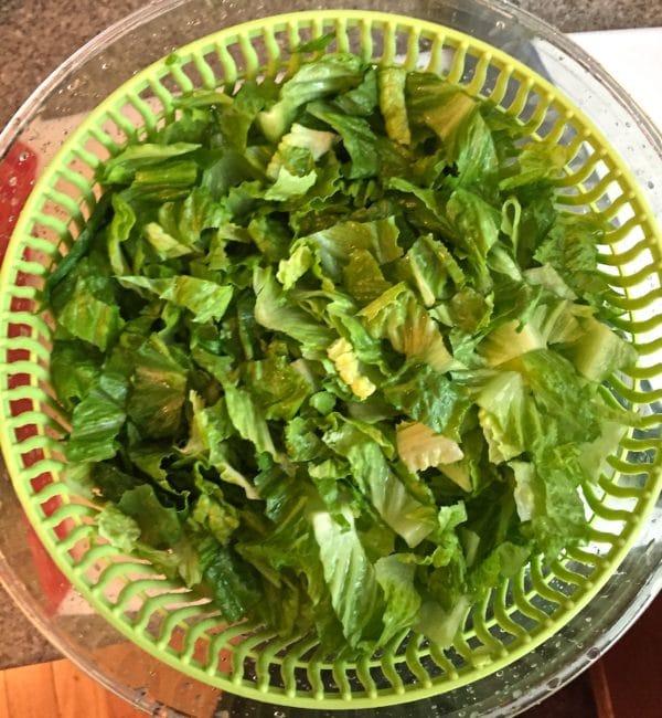 Romaine Lettuce Caesar Salad
