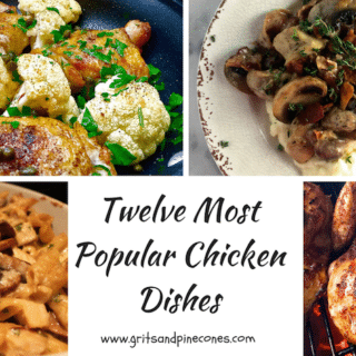 Twelve Most Popular Chicken Dishes