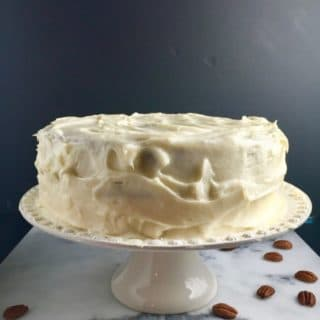Easy Carrot Cake with Cream Cheese Icing