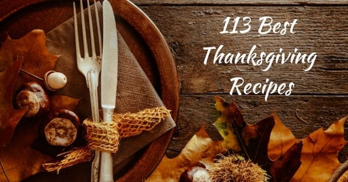 113 Best Thanksgiving Recipes Social Media