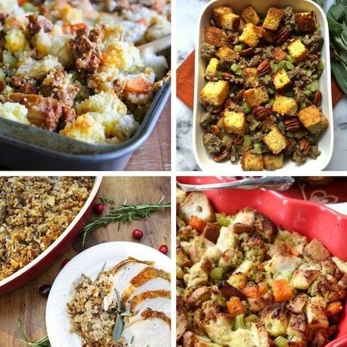 12 Best Thanksgiving Stuffing aka Dressing Recipes