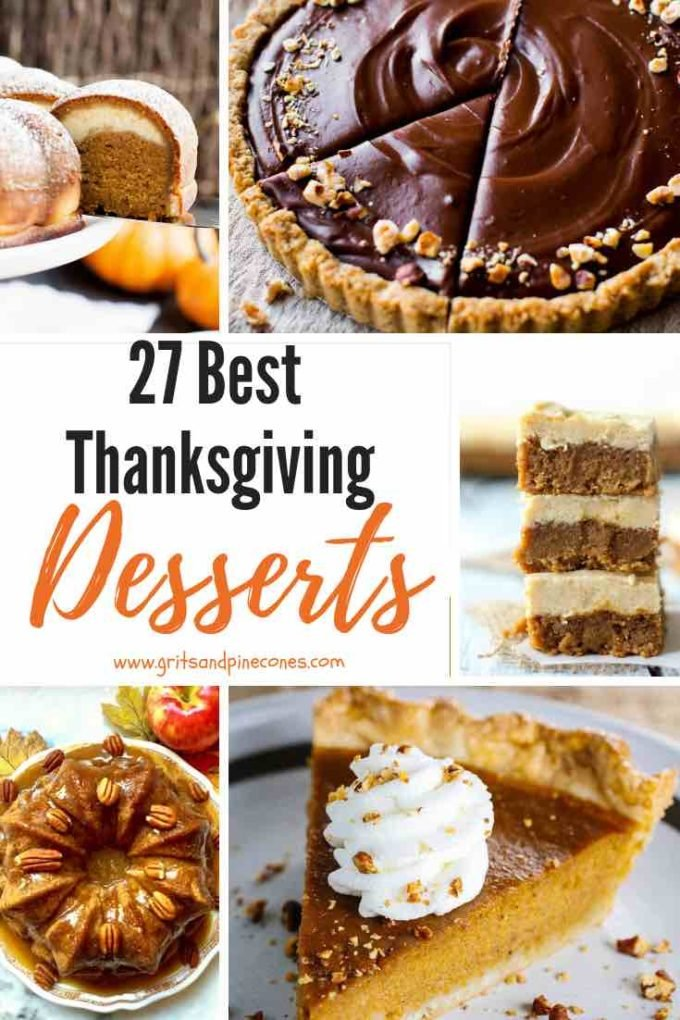 Whether you prefer pumpkin or apple pie, dessert just might be the best part about Thanksgiving dinner. From pecan pie to a pumpkin roll, any one of these 27 Easy and Amazing Thanksgiving Desserts will be a stunning and sweet addition to your holiday table. Also includes healthy, vegan, paleo, nut free, and GF options.
