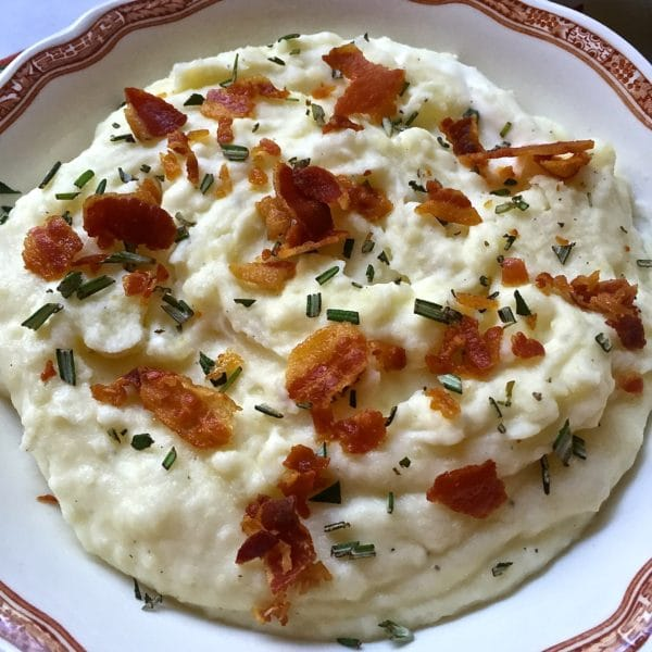 Pancetta and Rosemary Mashed Potatoes