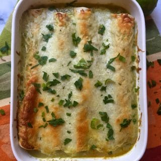 Easy Leftover Turkey Enchiladas Recipe